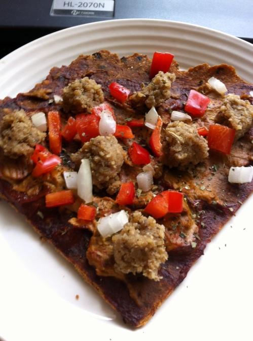 Raw Pizza Supreme